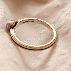 James Avery Tiny Turquoise Ring - Size 5